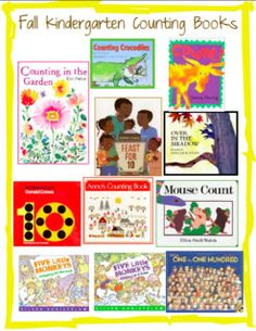 Joyful Learning In KC: Reading and Making Counting Books!