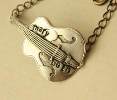 Personalized Guitar Bracelet.