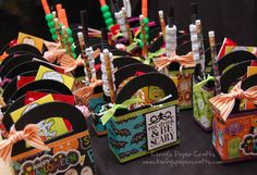 halloween treat boxes - could do for any holiday