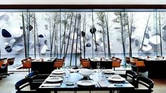 Hotel Omm Barcelona. The restaurant is pretty amazing too.: