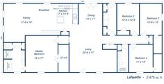 metal 40x60 homes floor plans | Our Steel Home Floor Plans - Click to View!                                                                                                                                                                                 More