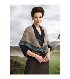 Outlander Garment Knit Kit-Transported to 1743 Shawl