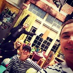 Kaley Cuoco, Melissa Rauch, Mayim Bialik, and Jim Parsons @therealjimparsons Instagram photos | Websta