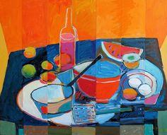 Kitchen Stuff - 24x30 Still Life Painting by Jim Flanagan - NUMA Gallery