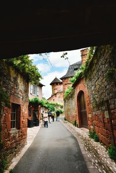 This Is The Most Beautiful Village In France - Collonges-La-Rouge (46)