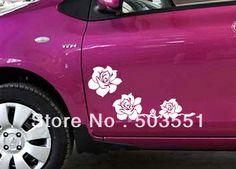Three Rose Flower Car Van Decal Vinyl Graphic Sticker