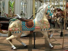 Charles Looff Carousel  (by caitlinburke)
