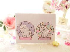 Cui stamp(Snow globe )