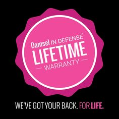 We've got your back with our lifetime warranty! www.facebook.com/damselpro1068