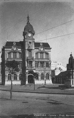 O Paço Municipal, na década de 1920.