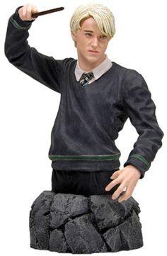 Busto Draco Malfoy 16 cms. harry Potter y la orden del Fénix
