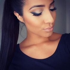 Love this smoked winged liner