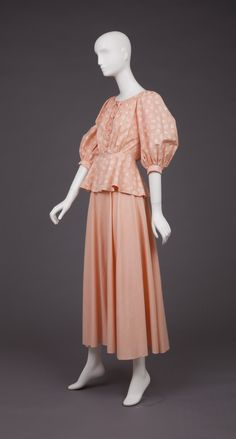 France - dress by Ted Lapidus - Cotton and lace BGoldstein Museum of Design Ted Lapidus, Bridesmaid Dresses, Wedding Dresses, Cotton Lace, Womens Fashion, 1970s, Museum, France, Vintage
