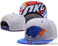 NBA Oklahoma City Thunder Snapback Hats Gray Triple Color Stack|only US$6.00 - follow me to pick up couopons.