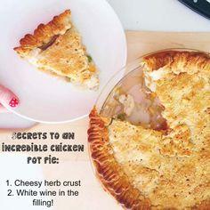 Chicken pot pie for
