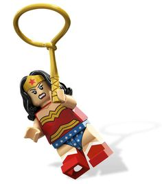 LEGO Super Heroes Wonder Woman Minifigure Minifig w/ Pearl Gold Lasso 6862 $10.99