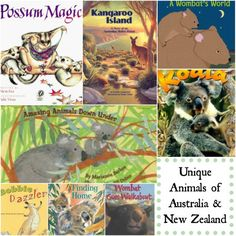 Learn about Unique Australian Animals for Kids- books, video clips, lessons and… Kindergarten Reading Activities, Reading Resources, Book Activities, Geography Activities, Reading Lists, Kids Around The World, In This World, Teaching Kids, Teaching Tools