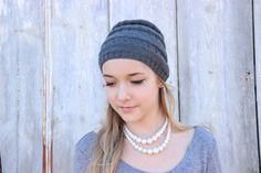 """Downloadable Pattern - Knit Slouchy Beanie """"Arcus"""" by SerbyStitches on Etsy"""