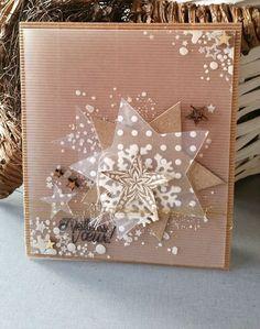 Christmas Card Greetings: Bonne année – L'atelier de lili Christmas Paper Crafts, Homemade Christmas Cards, Christmas Cards To Make, Christmas Greeting Cards, Greeting Cards Handmade, Homemade Cards, Handmade Christmas, Holiday Cards, Christmas Crafts