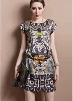 Multi Day Dress - Bqueen New Style Leopard Printed | UsTrendy