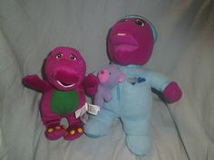 Barney the Dinosaur - Lullaby light up Barney & Barney Soft Toy Barney The Dinosaurs, Light Up, Dinosaur Stuffed Animal, Toys, Character, Animals, Ebay, Activity Toys, Animaux