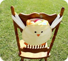 Easter Chick Chair Back
