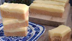 No Bake Lemony Coconut Slice - Queen Fine Foods