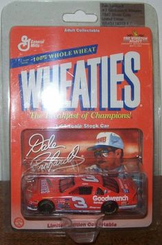 Dale Earnhardt, Wheaties, 1/64th. #EarnhardtMemorabilia