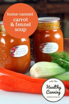 Carrot and Fennel Soup. This is a delicious, creamy-tasting carrot ...