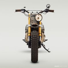 The Walking Dead Motorcycles. Via BikeExif #motorcycles #streettracker #motos | caferacerpasion.com