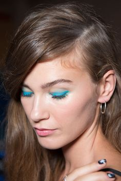 Nanette Lepore -  All the Statement-Making Eyes from Fashion Month You Need to See | StyleCaster