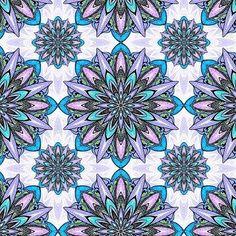 #patternbankdesigner » patternbank.com/kanvisstyle – Mandalas pattern soon available for purchase on Patternbank #Patternbank #pattern #pantonecolor #patterndesign  #textiles #surfacedesign #fashion #patternbankdesigner #repeatpattern #floral #fashiontextiles #fineliner #illustration IG: @kanvisstyle_pattern
