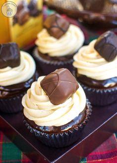 GODIVA Chocolate Caramel Cupcakes #GiveGODIVA #Pmedia #ad