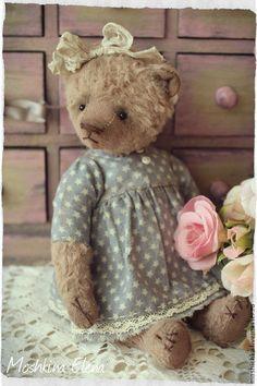 Мишки Тедди ручной работы. Ярмарка Мастеров - ручная работа Ники (для Виктории). Handmade.
