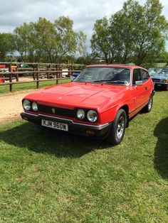 Lovely Scimitar GTE at Classic Auto Extravaganza