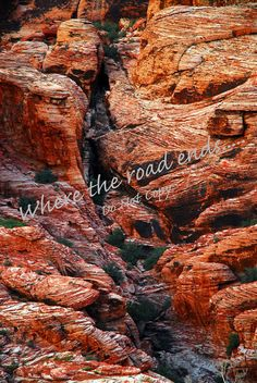 Red Rock Details by WhereTheRoadEnds on Etsy