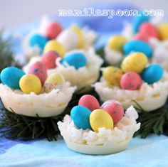 Manila Spoon: White Chocolate and Coconut Egg Nests