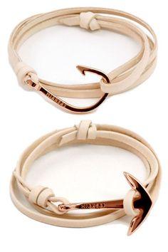 Miansai Rosegold Hook and Anchor Bracelet - Affordable Gifts for Women 2012 - Harper's BAZAAR