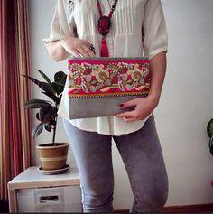 Bohemian clutch Ethnic Clutch Womens Bag by BOHOCHICBYDAMLA