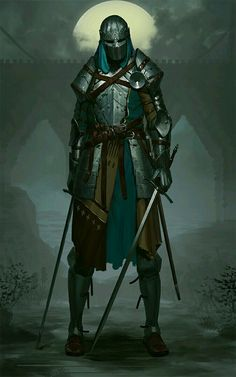 New Medieval Fantasy Art Knights Armors 56 Ideas, Fantasy Warrior, Fantasy Character Design, Character Inspiration, Character Art, Armadura Medieval, High Fantasy, Medieval Fantasy, Fantasy Rpg, Dnd Characters