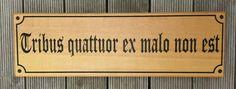 House sign Wester red cedar laser engraved with black fill. MyChoice@Firebridge