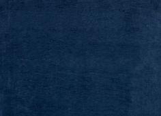 Villandry Plain Velvet Fabric Midnight