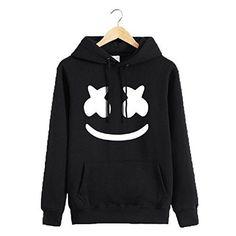 a0f44a1fda Marshmello Sweatshirt Dj Coat Jacket Hoodie Men Women Outwear Sport Unisex   fashion  clothing