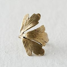 Gingko Ring