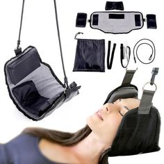 Cheap traction device, Buy Quality pain relief directly from China for neck Suppliers: Dropshipping Neck Massager Hammock Traction Device Cervical Posture Alignment Support Pressure Neck Pain Relief Hammock Massage Neck Pain Relief, Tension Headache, Back Muscles, How To Relieve Stress, Traction, Health Care, Health Tips, Body, Spa