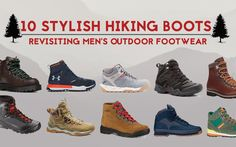 stylish hiking boots for men