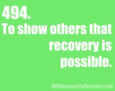 A Life without Anorexia: 100 reasons to recover