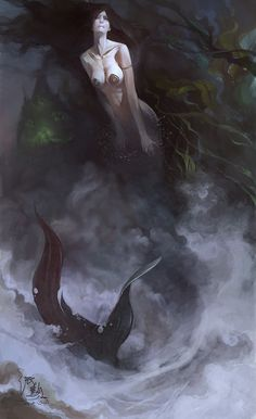 The Little Mermaid by bayardwu - Bayard Wu - CGHUB via PinCG.com