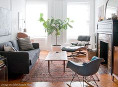 6 Space-Saving Tips for Small Apartments | Image from Manhattan Nest | TRNK