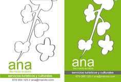 """Tarjetas ana """"Servicios Turisticos"""" by alberto vega diseño gráfico & web, via Flickr"""